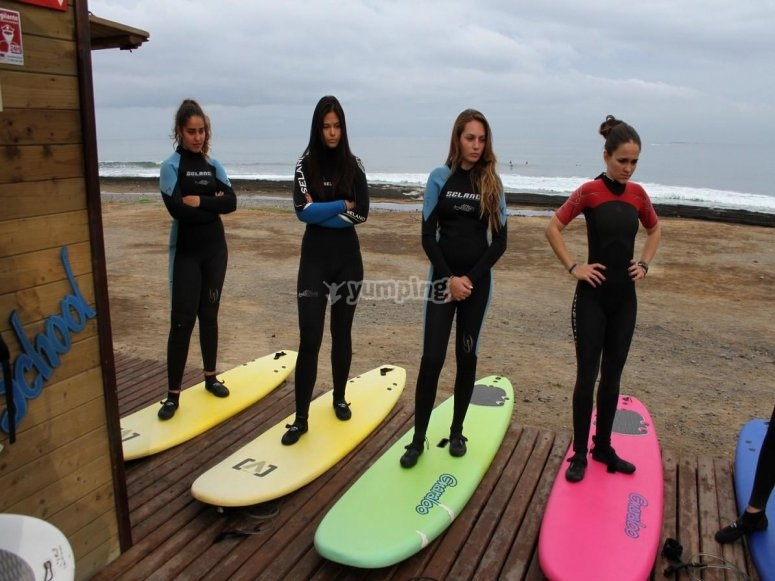 inicicacion al surf