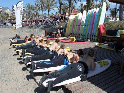 Iniciación al surf en 5 días en Tenerife