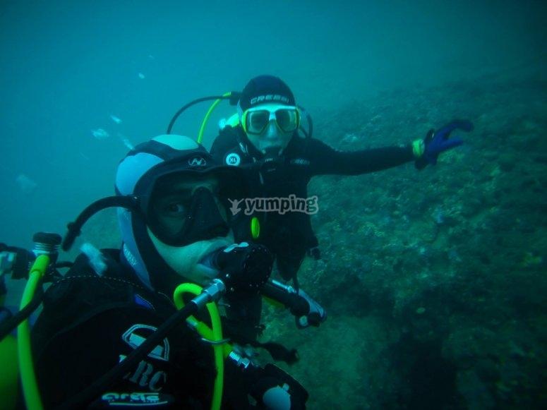 学习新的潜水技术