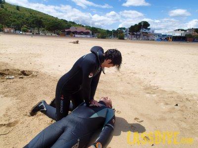 SSI Rescue Diver presso L'Estartit Beach