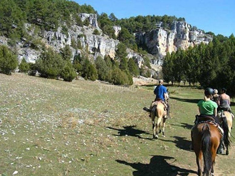 Ruta del Cid a caballo