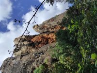 在Cerro del Hierro攀岩