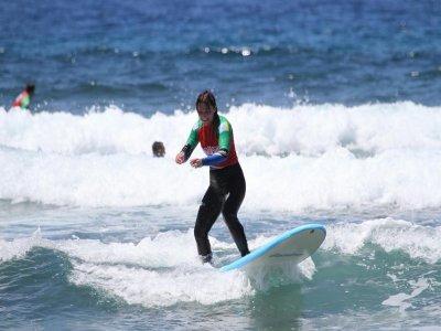 Curso nivel medio de surf en 3 días Tenerife sur