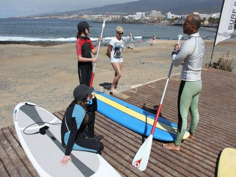 inicio de paddle