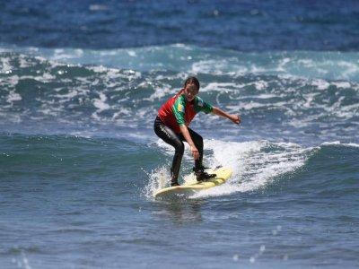 Clase de 2 horas de Surf Avanzado en Tenerife