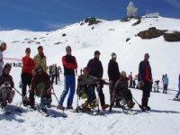 滑雪课程滑雪内华达