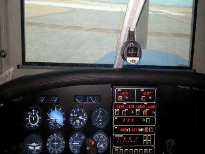 Simulador de vuelo IFR 1h en Madrid Cuatro Vientos
