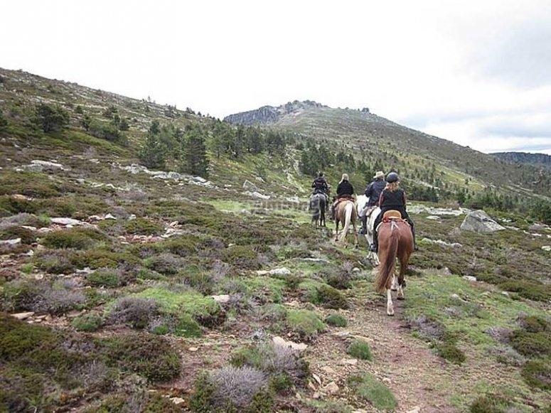 Una ruta a caballo que no olvidarás