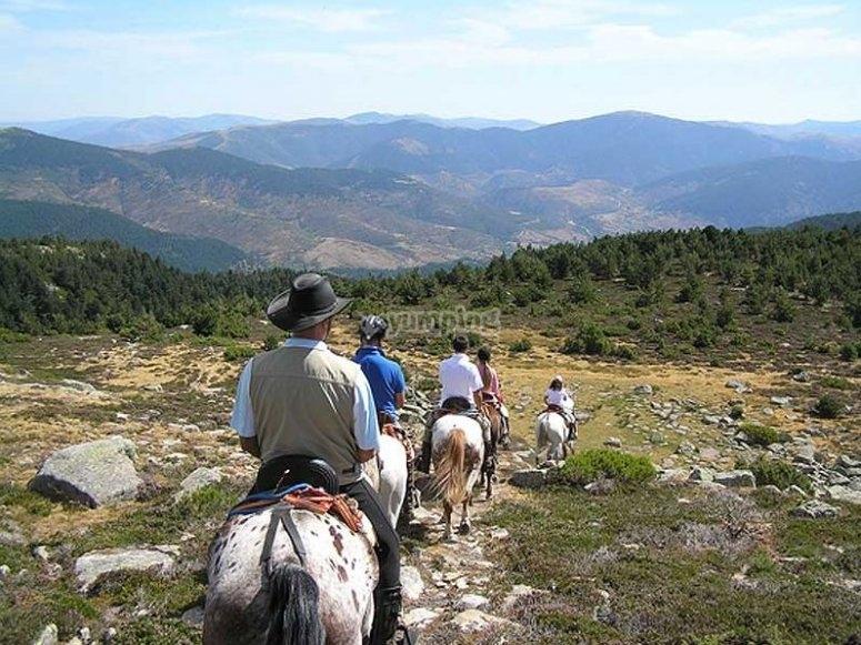 Conociento el río Duero a caballo