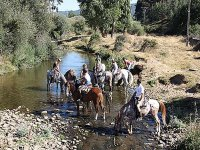 El Duero, a caballo