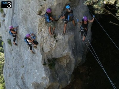 Bachelor party with Via Ferrata + Groom for free