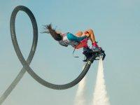 Pirouettes con il flyboard