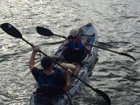 Travesía en kayak por la costa gallega