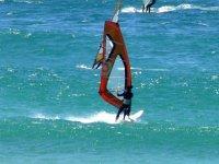 windsurfing in goiriz