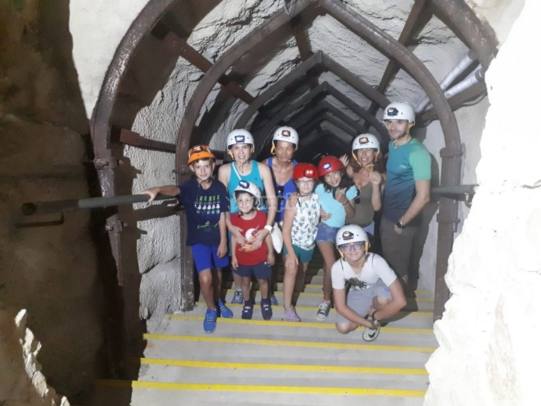 Young speleologists