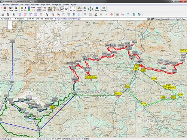 Planificando la ruta
