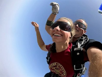 Tandem jump in Murcia at 3,600 metres
