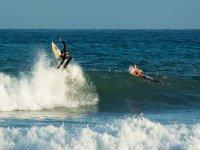 Surf con amigos