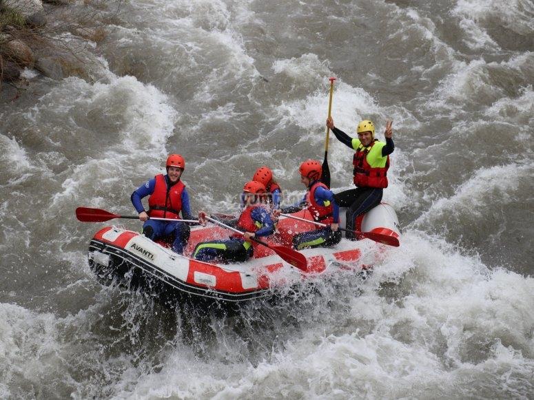 rafting barcelona