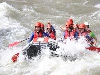 Rafting en el Río Noguera especial Team Building
