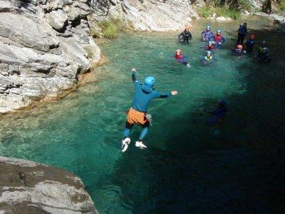Barranquismo para empresas en el Río Noguera