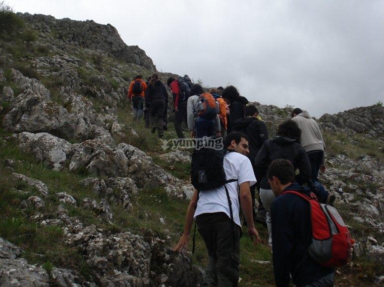 Hiking Manjirón