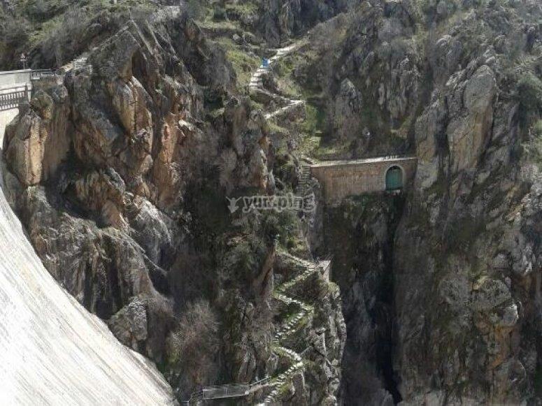 puente senderismo manjiron