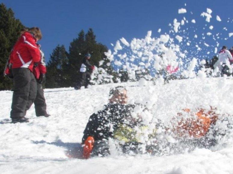 Snowshoe fun