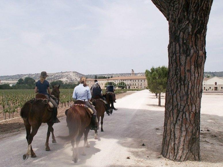Rutas a caballo de una semana