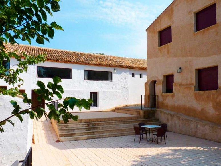 finca del campus de ingles en requena