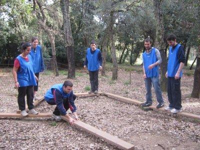 为Sant Celoni的小学生挑战赛道