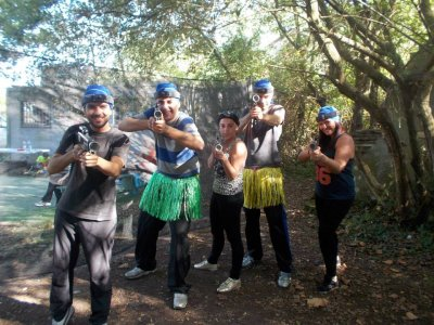 Laser tag + treetop adventure, groups, Cantabria