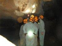 Espeleología sendero subterraneo grupos Cantabria