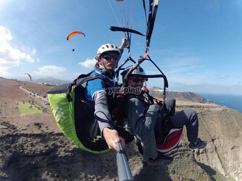 Parapente en Canarias