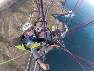 Oferta especial parapente para 2 y fotos G.Canaria