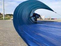 Probando el surfskate