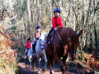 Equestrian route in Coruna for kids