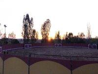 Plaza para celebrar capeas en Badajoz