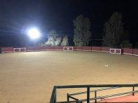 Nuestra plaza de tientas de noche