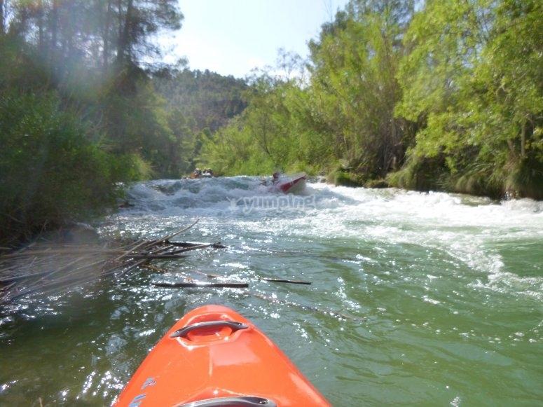 Ruta en kayak Villagordo del Cabriel