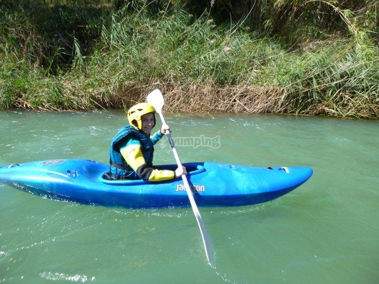 Paseo en canoa por Villagordo del Cabriel