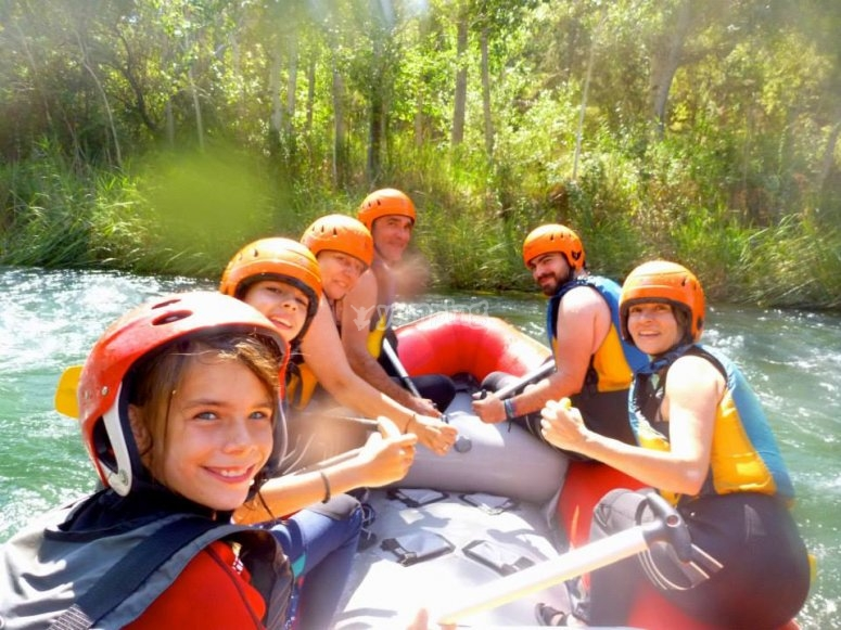 rafting peques