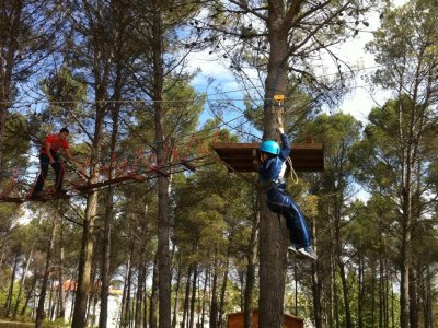 1-day adventure for schools in Alarcón