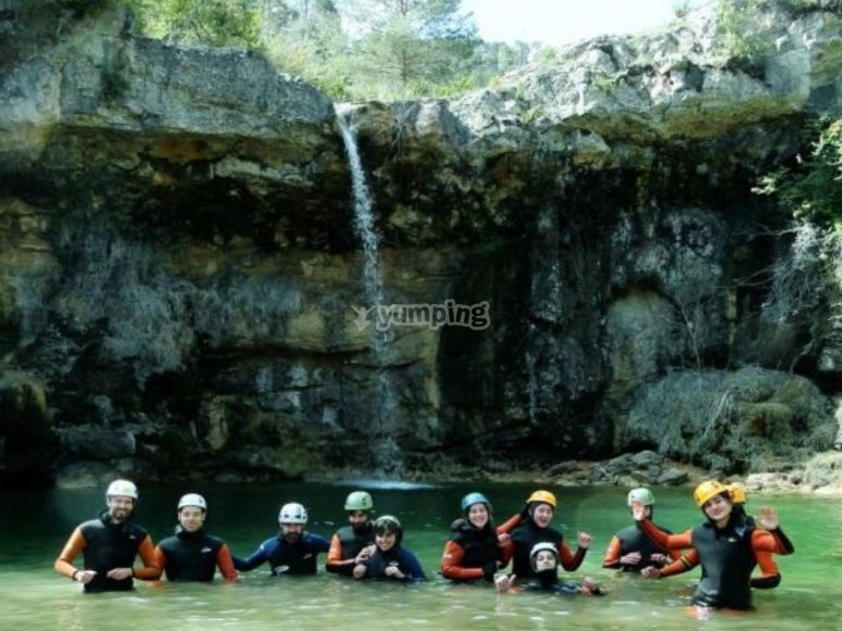 Try canyoning