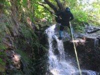 rappel descenso cascadas