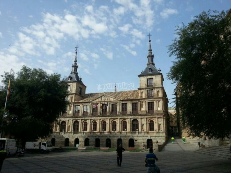 Paseando por los lugares historicos de Toledo