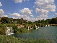 vistas parque natural de las lagunas de ruidera