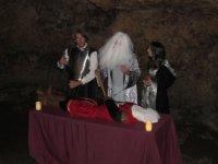 Visita teatralizada en el interior de la cueva