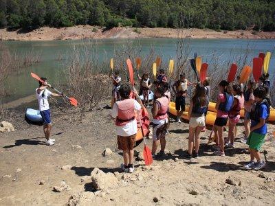 Campamento inglés colegios 3 días Sierra Cazorla