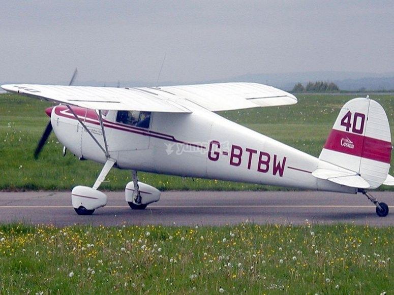 Ready to take off!